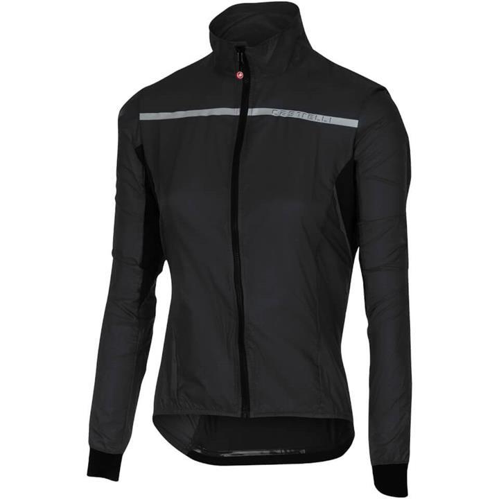 Castelli Women's Superleggera Jacket - XS - Black
