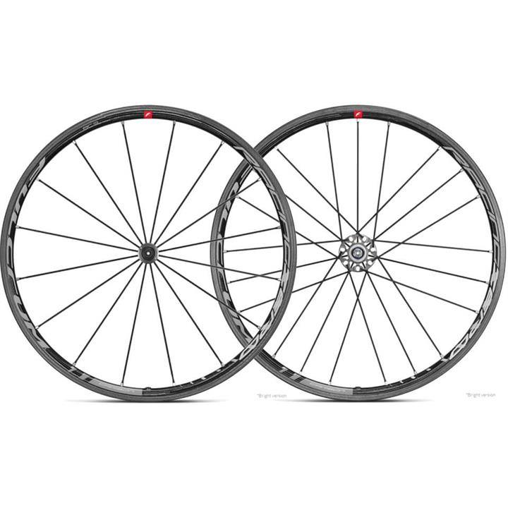 Fulcrum Racing Zero C17 Carbon Wheelset - Bright Logo - Shimano