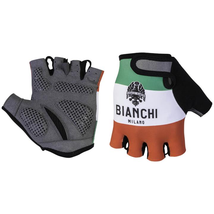 Bianchi Alvia Mitts - Red/White/Green - M