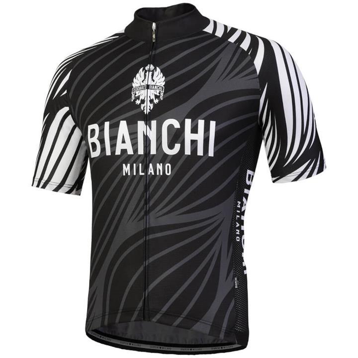 Bianchi Caina Short Sleeve Jersey - Black - M - Black