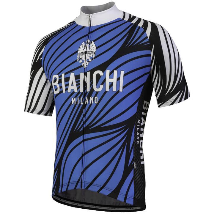 Bianchi Caina Short Sleeve Jersey - Blue - S - Blue