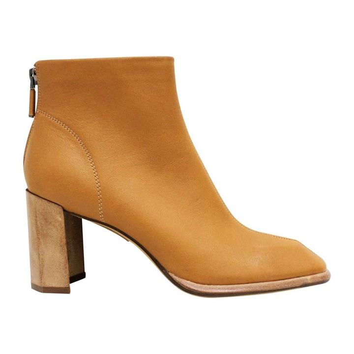 Neo X Bite Tan womens leather ankle boots