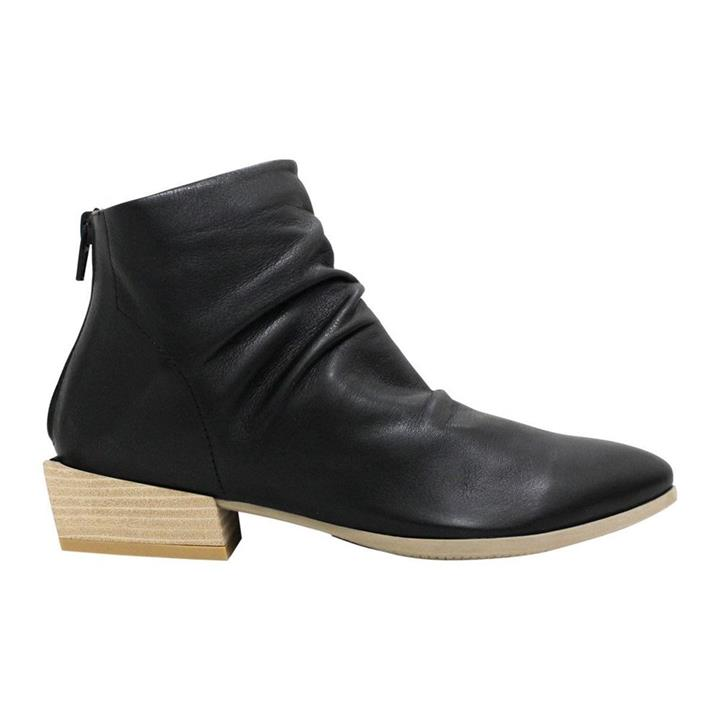 Bueno Lady Black womens ankle boot