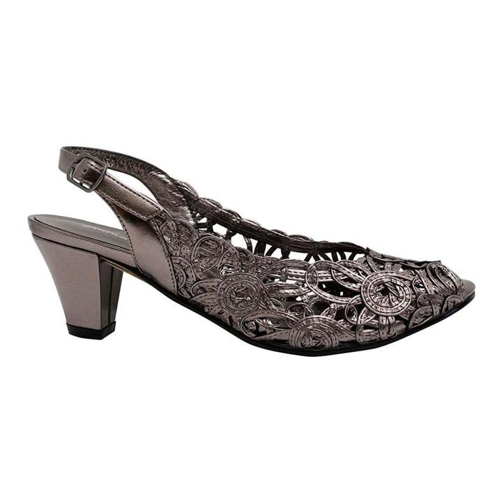 Emma Kate Event Pewter womens low heel