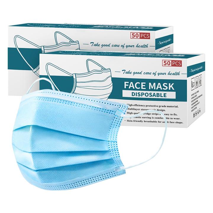 Image of 120 Pcs Anti Dust Filter Disposable Protective Sanitary Face Mask