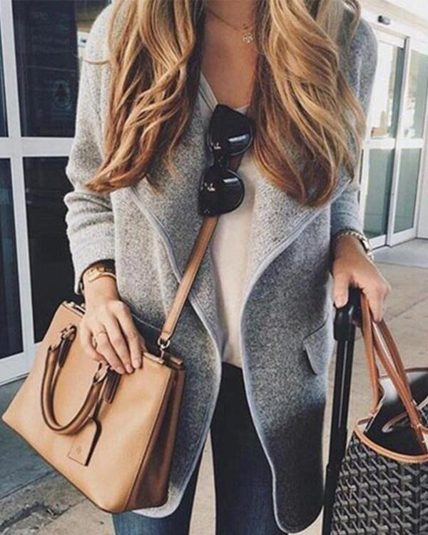 Image of Extra-Thick Minimalistic Casual Coat