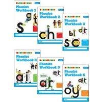 Phonics Workbooks (1-6) by Lyn Wendon