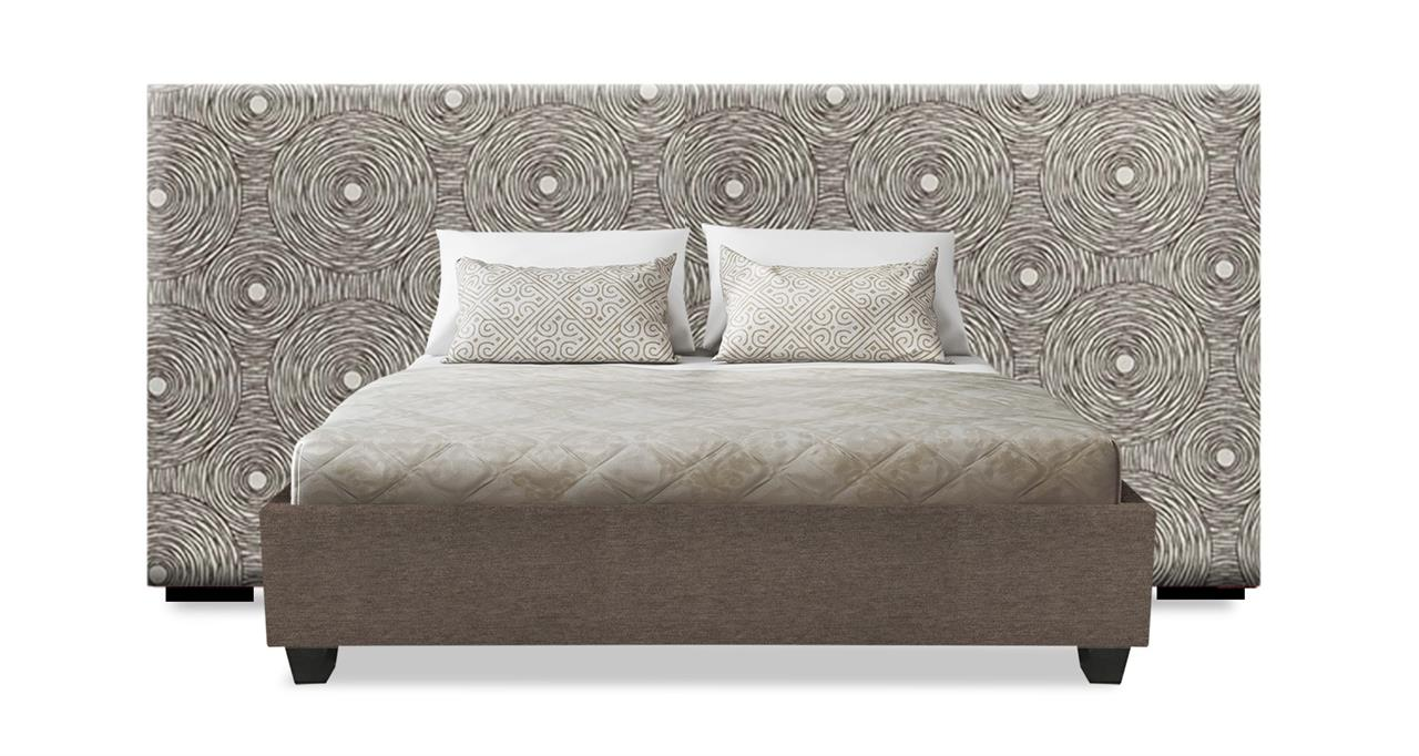 New York Custom Upholstered Wide Bed Head