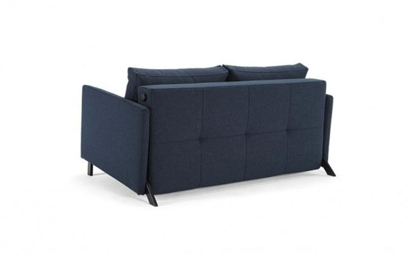 Cubed 140 Sofa Bed With Arms - Innovation Living