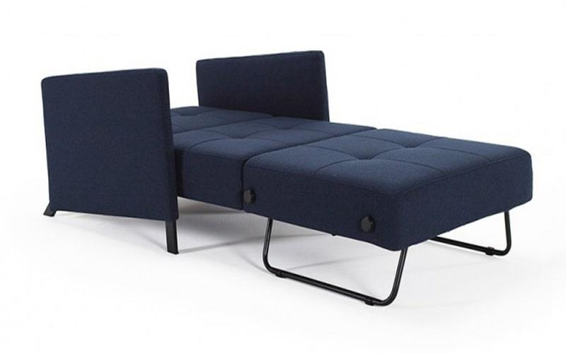 Cubed 90 Single Sofa Bed With Arms - Innovation Living
