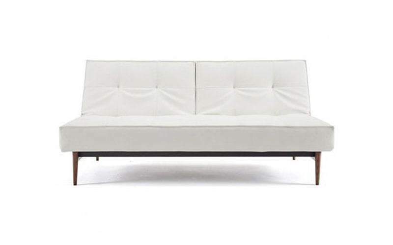 Splitback King Single Sofa Bed With Dark Styletto Legs - Innovation Living