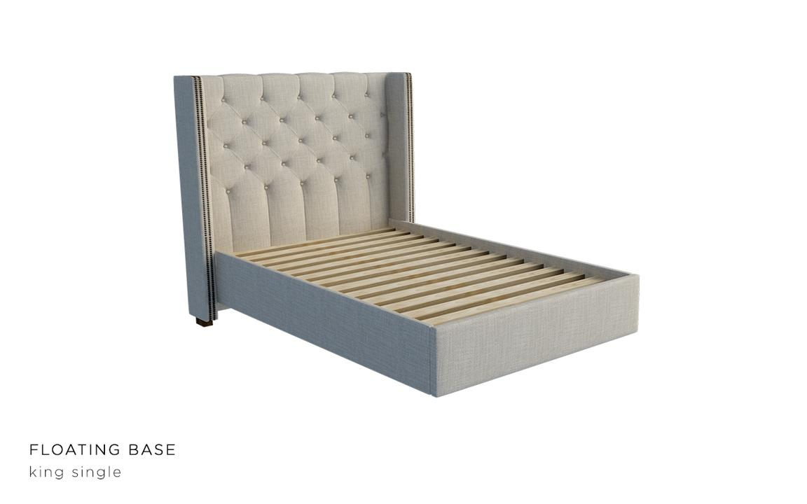 Marseille Upholstered Bed Head With Choice Of Standard Base