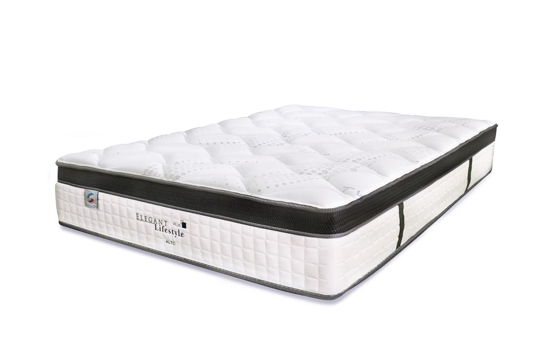 Comfort Sleep Elegant Lifestyle Alto Pillow Top Pocket Spring Soft Mattress