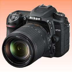 New Nikon D7500 20MP Kit (18-140mm) Digital SLR Camera (FREE INSURANCE + 1 YEAR AUSTRALIAN WARRANTY)
