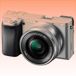 New Sony Alpha A6400 (16-50mm) Kit Digital SLR Cameras Silver (FREE INSURANCE + 1 YEAR AUSTRALIAN WARRANTY)
