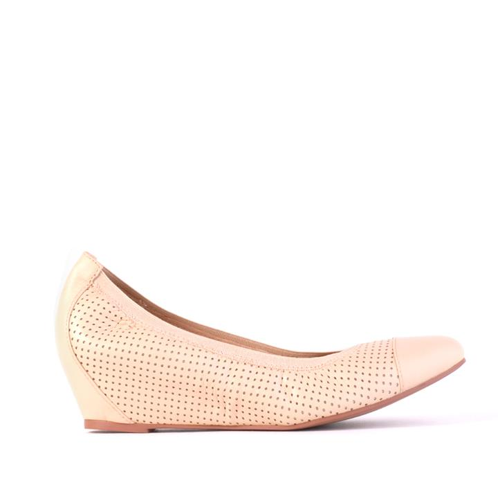 Image of Verali Shoes: Abbie Nude Leather Abbie Nude Leather