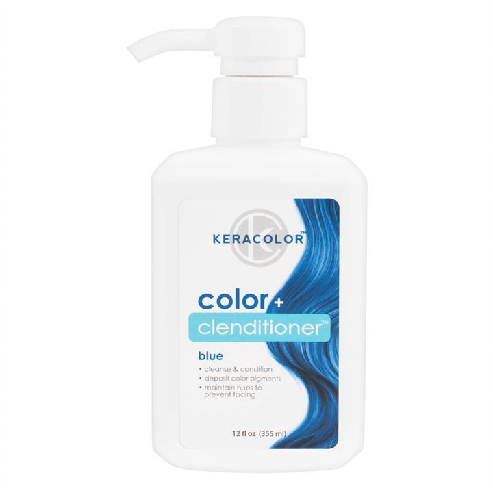 Keracolor Colour + Clenditioner - Blue 355ml