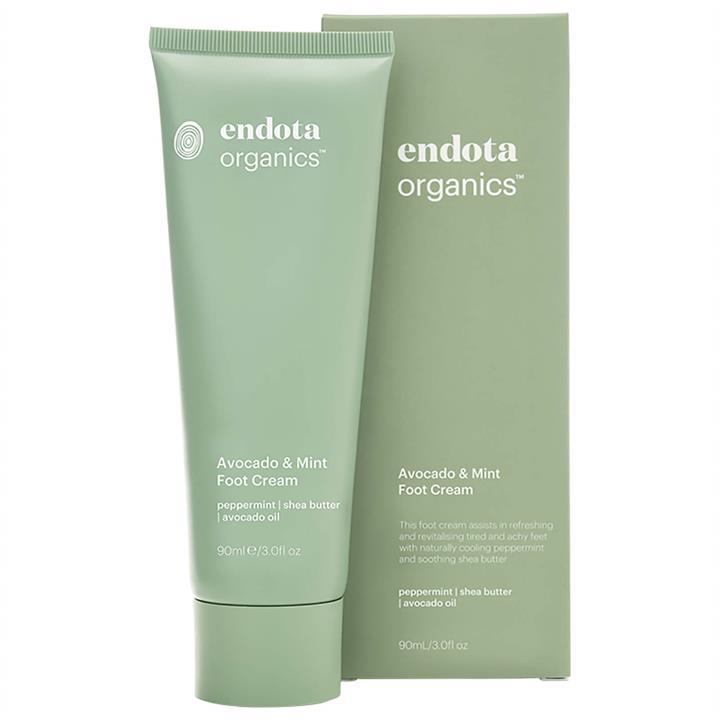 Endota Spa Organics Avocado And Mint Foot Cream 90ml