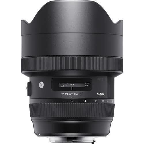 Sigma 12-24mm f/4 DG HSM Art Lens for Canon Mount | Black