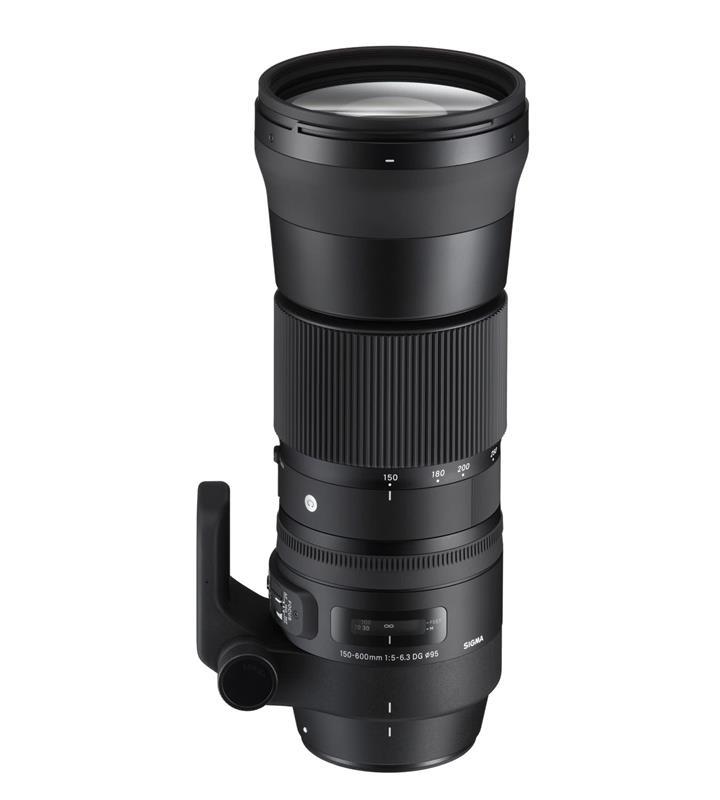 Sigma 150-600mm F5-6.3 DG OS HSM Contemporary Lens Canon EOS Mount | Black