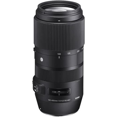 Sigma 100-400mm F/5-6.3 DG OS HSM Contemporary Lens - Canon Mount | Black