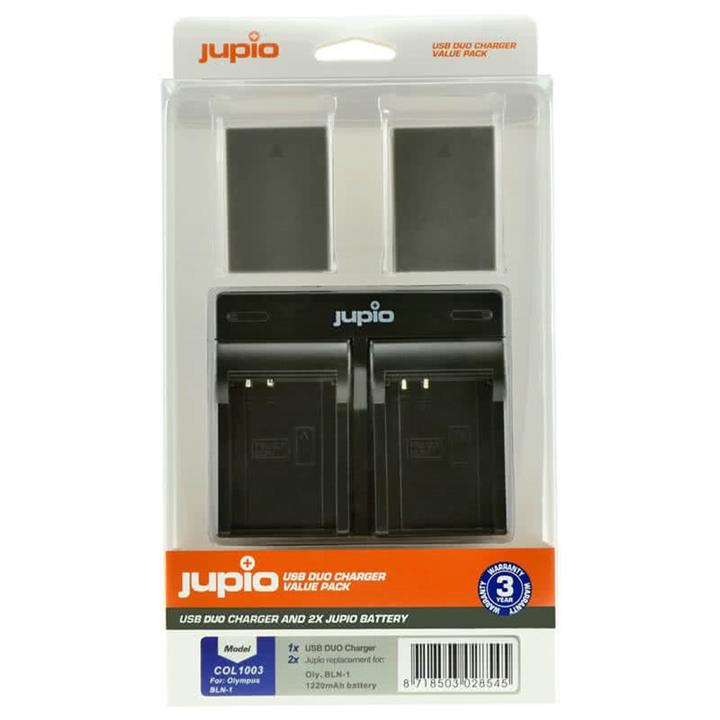 Jupio Dual Batteries and Charger Kit for PS-BLN1