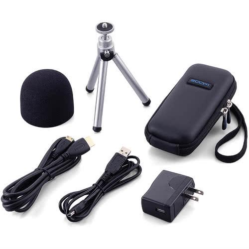 Zoom APQ-2HD Accessory Package for Q2HD Video Recorder | Black