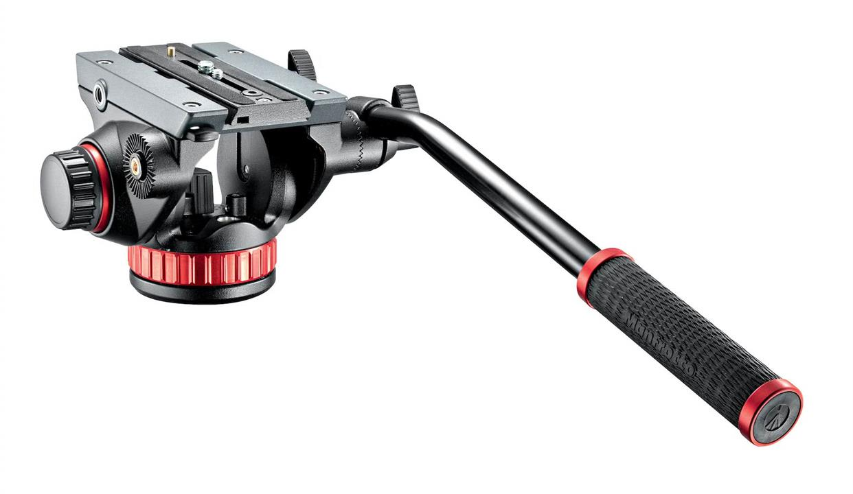 Manfrotto 502HD PRO Tripod Video Head 100 with Fluid Drag