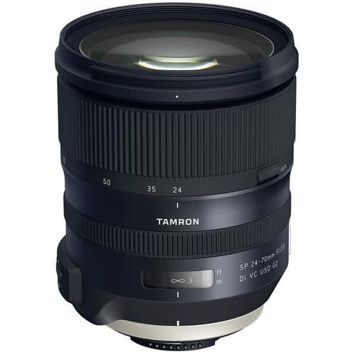 Tamron 24-70mm f2.8 Di VC USD G2 Lens for Nikon Mount | CameraPro Australia | Black