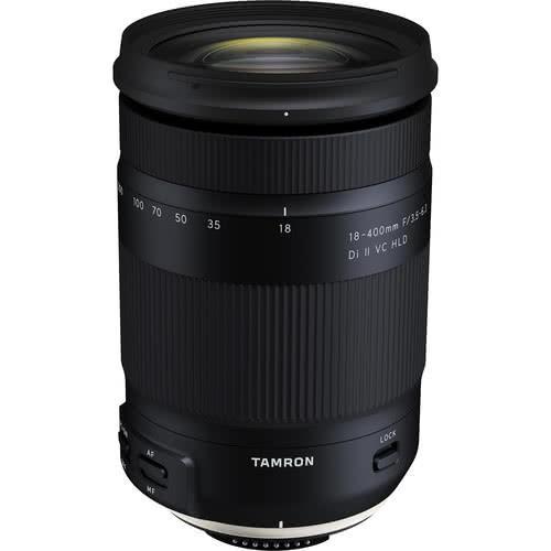 Tamron 18-400mm F/3.5-6.3 Di II VC HLD - Canon | Black