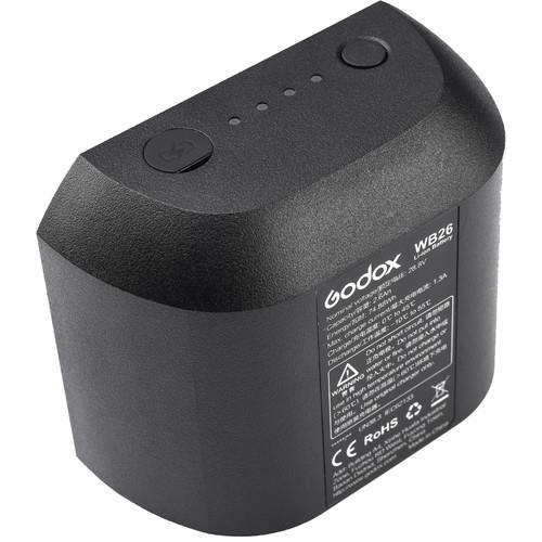 Godox WB26 Li-Ion Battery for AD600PRO | CameraPro