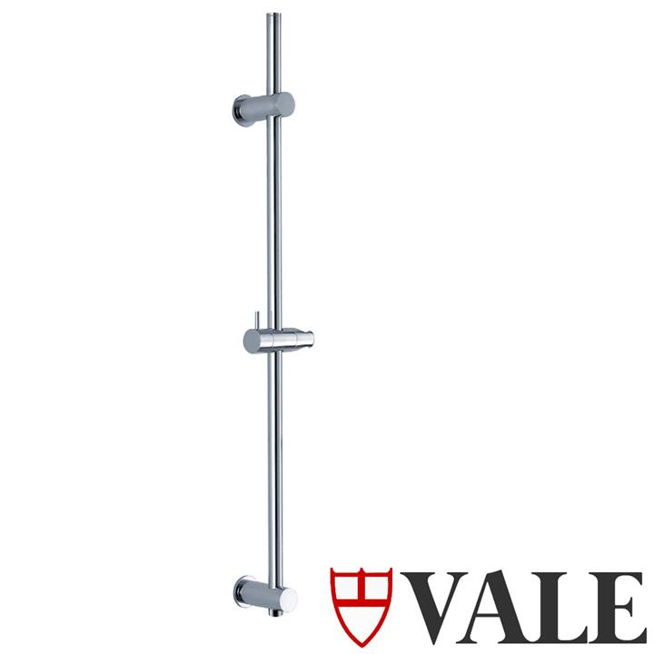 Round Shower Rail with Inlet