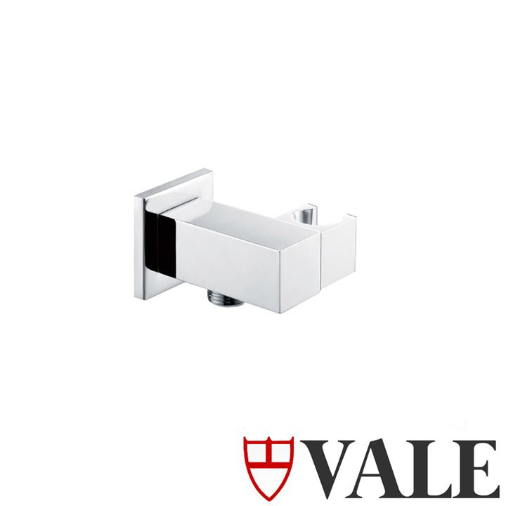 Square Hand Shower Holder with Inlet