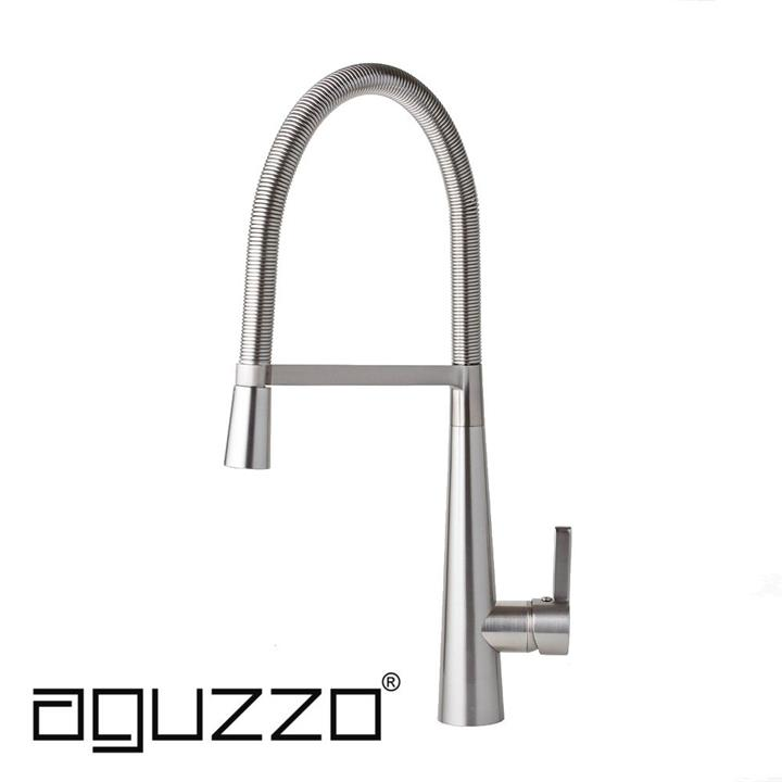 Bello Kitchen Mixer Tap - Brushed Nickel Finish
