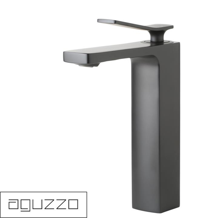 Cortina Single Lever Basin Mixer Tap - Tall - Matte Black