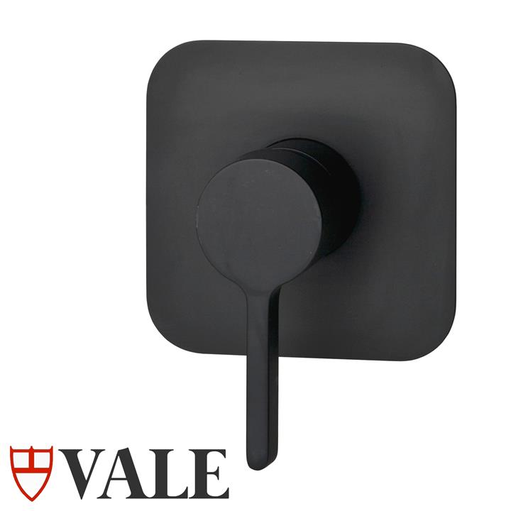 Brighton Nero Wall Mounted Shower Mixer - Matte Black