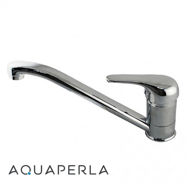 Ascend Single Lever Kitchen Mixer Tap - Polished Chrome