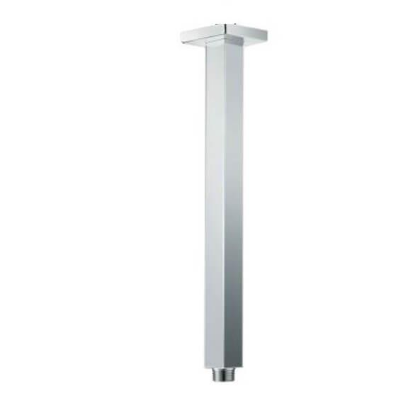 Square Shower Arm - Ceiling Mounted - 400mm