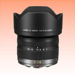 Image of New Panasonic LUMIX G VARIO 7-14mm f/4.0 ASPH Lens