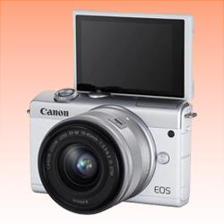 Image of New Canon EOS M200 kit 15-45 Digital Camera White
