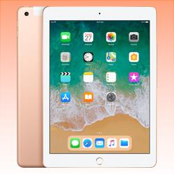 Image of Used as demo Apple iPad 9.7-inch 5th Gen 32GB Wifi Tablet Gold (6 month warranty + 100% Genuine)