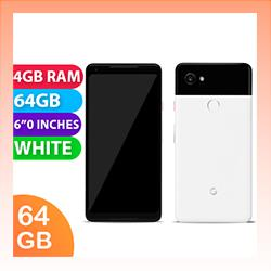 Image of Used as Demo Google Pixel 2 XL Single SIM 64GB 4G LTE White (6 month warranty + 100% Genuine)