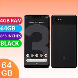 Image of Used as Demo Google Pixel 3 XL 64GB 4G LTE Black (6 month warranty + 100% Genuine)