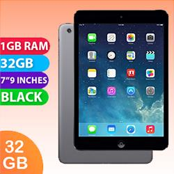 Image of Used as demo Apple iPad Mini 2 32GB Wifi + Cellular Black (6 month warranty + 100% Genuine)