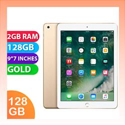Image of Used as demo Apple iPad 9.7-inch 5th Gen 128GB Wifi + Cellular Gold (6 month warranty + 100% Genuine)
