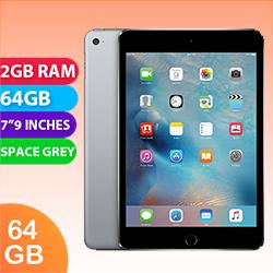 Image of Used as demo Apple iPad Mini 4 64GB Wifi Space Grey (6 month warranty + 100% Genuine)