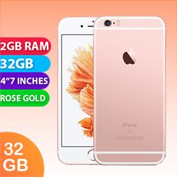 Image of Used as Demo Apple Iphone 6S 4G LTE 32GB Rose Gold (6 month warranty + 100% genuine)
