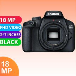 Image of New Canon EOS 4000D Body Only Kit Black