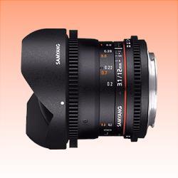 Image of New Samyang 12mm T3.1 VDSLR ED AS NCS Fisheye Lens for Canon