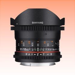 Image of New Samyang 12mm T3.1 VDSLR ED AS NCS Fisheye Lens for Sony E